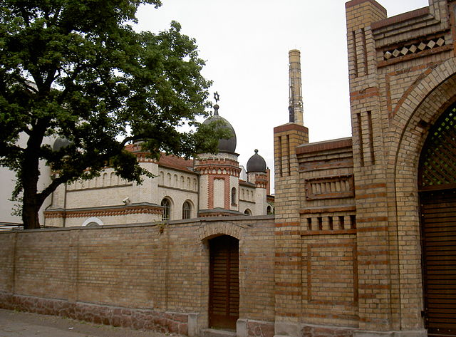 Synagoge in Halle - Foto: Allexkoch - wikimedia.org - CC BY-SA 4.0